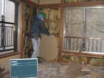 壁材(石膏ボード)手作業による撤去